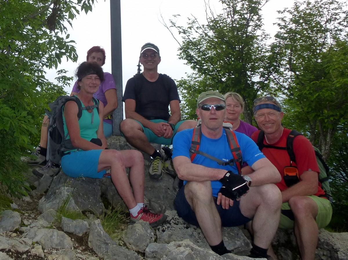 Klettersteigwoche in Arco/Gardasee 01.-05.06.2016