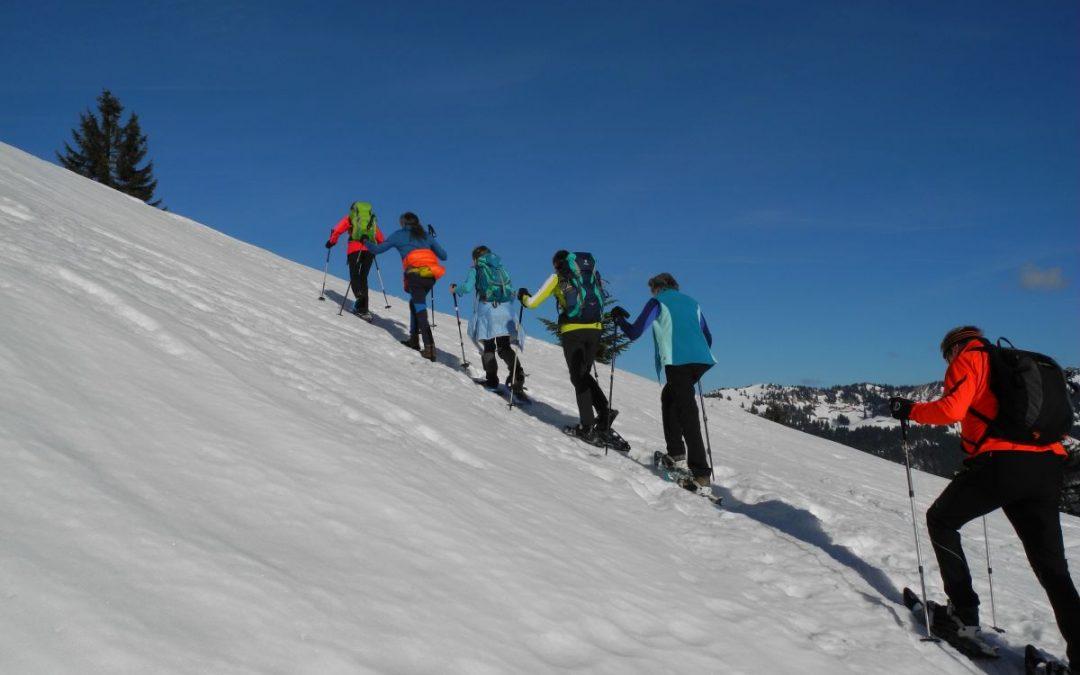10.01.2018 Schneeschuhtour zum Burstkopf