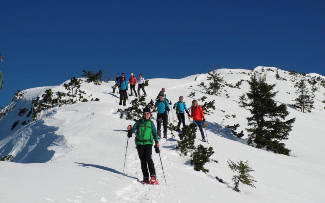 27.01.2018 Schneeschuhtour zum Kühgundkopf