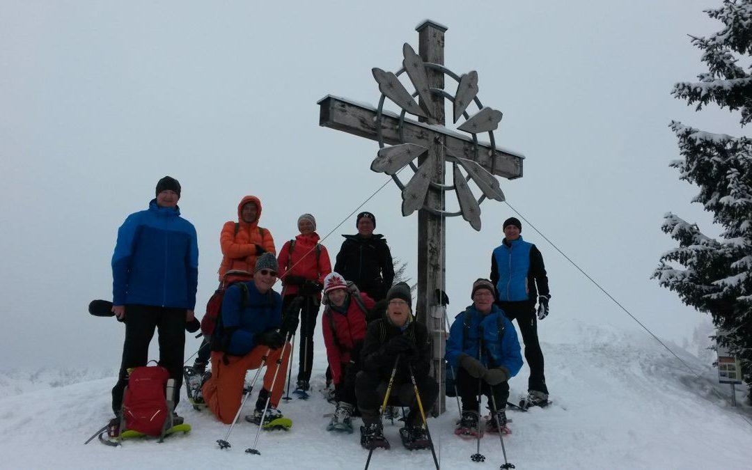 03.02.2018 Schneeschuhtour zum Sonnenkopf