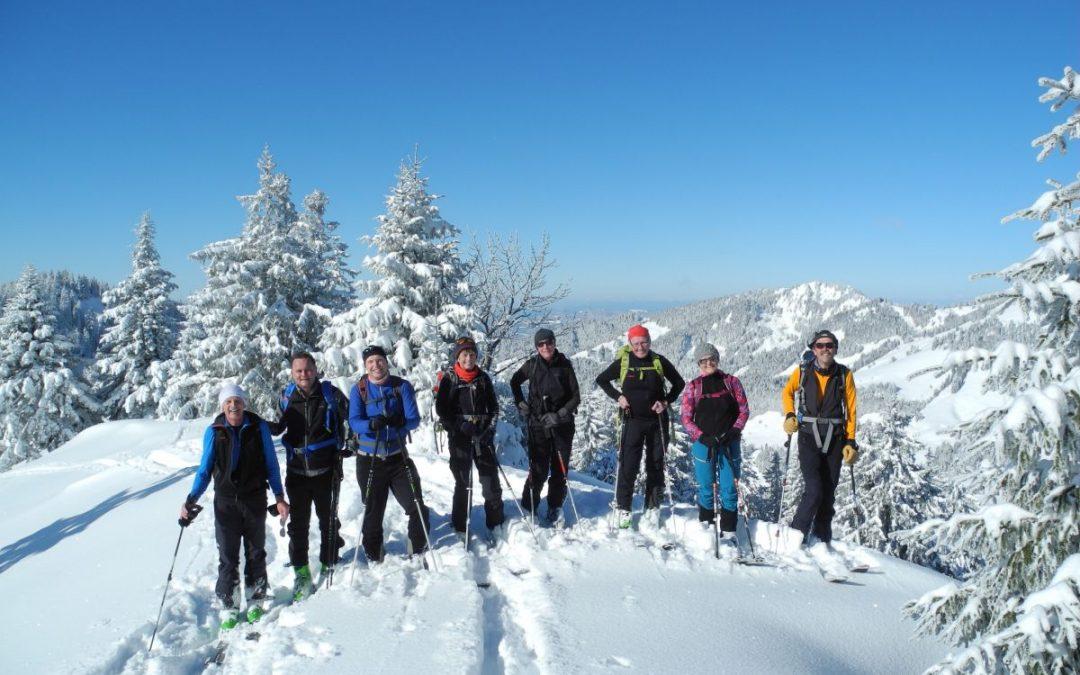 13.02.2018 Skitour zum Koppachstein