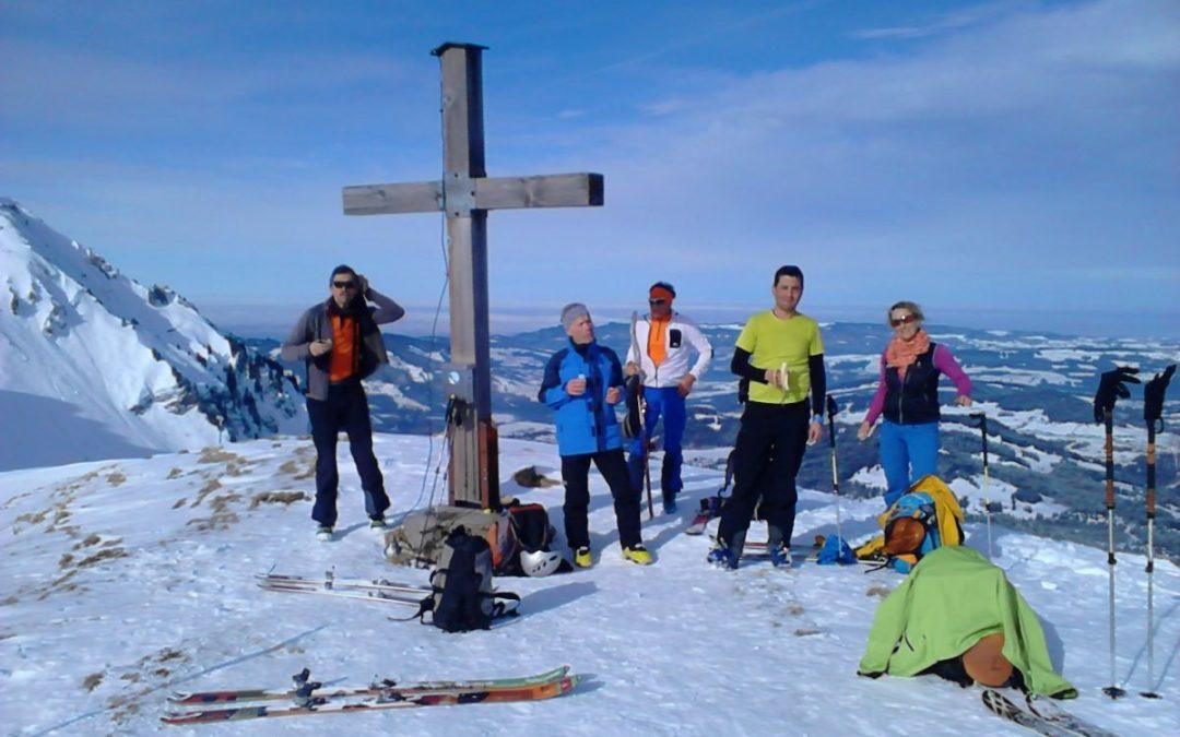 06.02.2018 Skitour zum Bullerschkopf