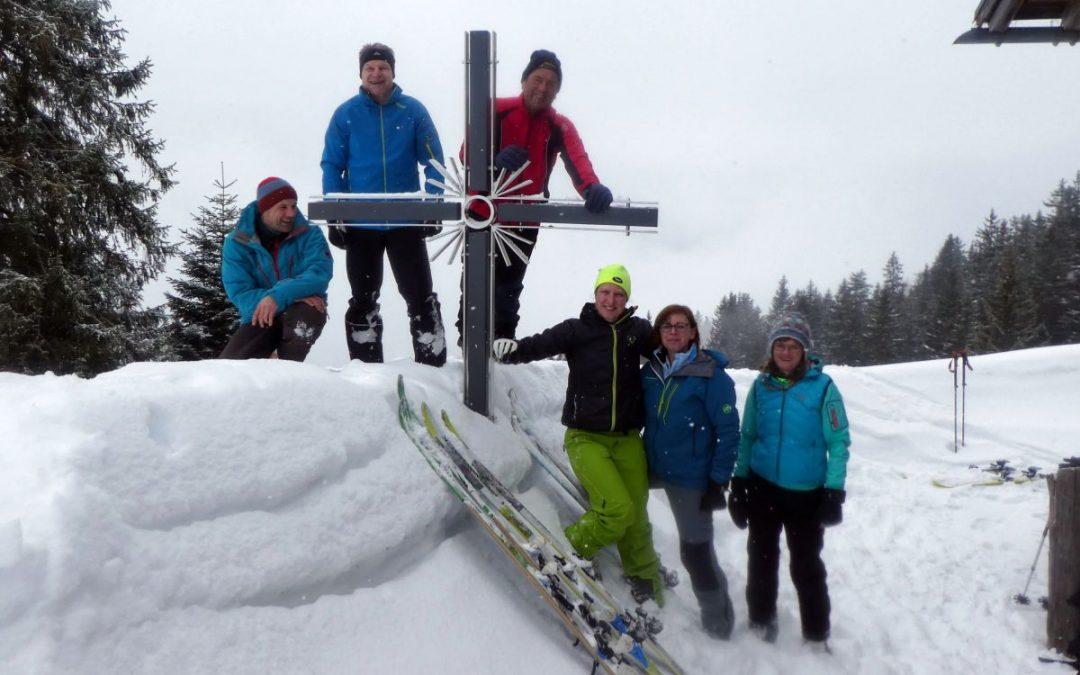 10.02.2018 Hirschberg (1630 m) – Ski-Tour