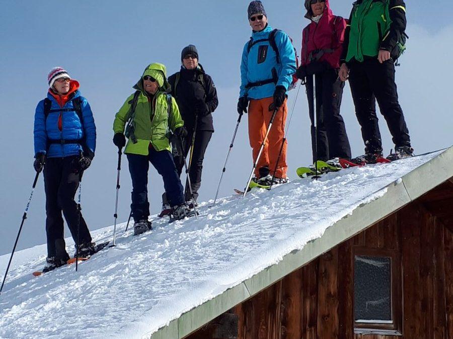 24.02.2018 Schneeschuhtour zum Wertacher Hörnle