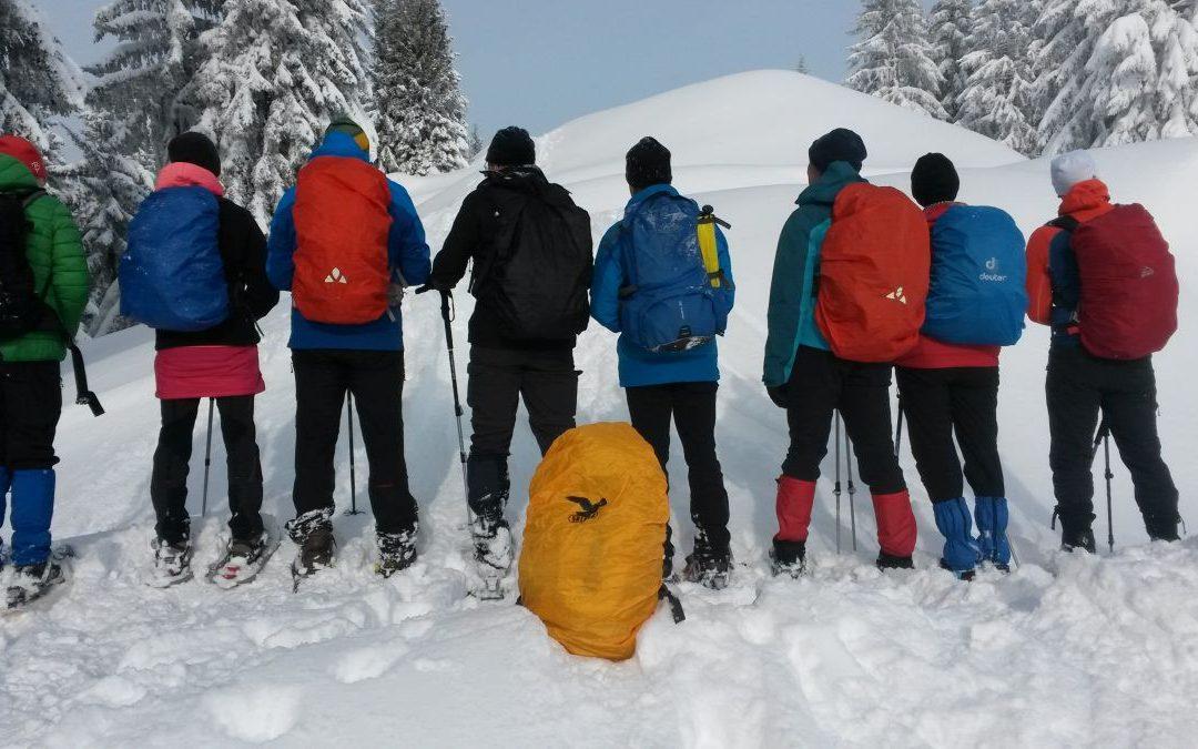 20.01.2018 Schneeschuhtour zum Rangiswanger Horn