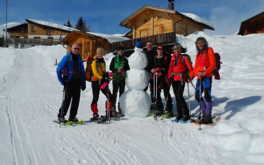 """03.03.2018 Schneeschuhtour """"Auf der Mutte"""""""